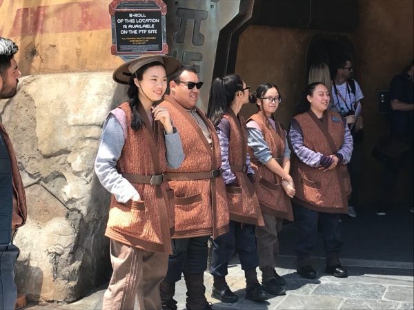 All of the Cast Members look and act like they should be in Batuu.