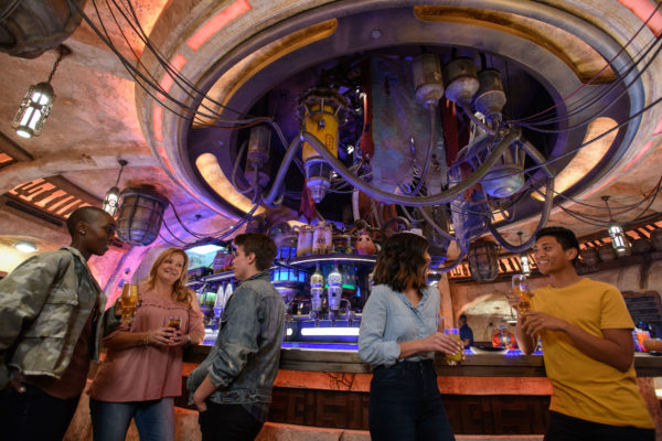 Oga's Cantina is the local watering hole. It's also the place to make a deal! Photo credits (C) Disney Enterprises, Inc. All Rights Reserved
