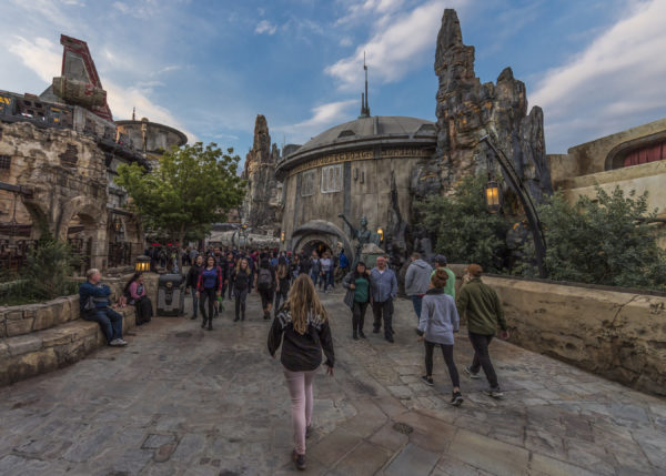 Star Wars: Galaxy's Edge is 80 percent reality and 20 percent art. Photo credits (C) Disney Enterprises, Inc. All Rights Reserved