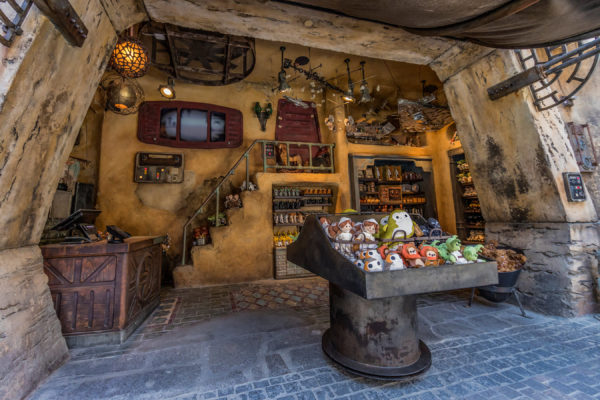 A glance at the Toydarian Toymaker shop in Galaxy's Edge. Photo credits (C) Disney Enterprises, Inc. All Rights Reserved