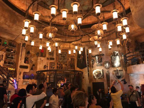 Here's a look at Dok Ondar's Den of Antiquities in Disneyland.