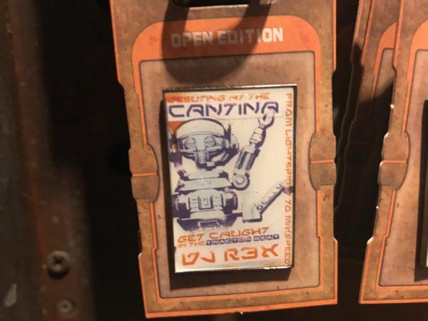 Oga's Cantina DJ Rex trading pin