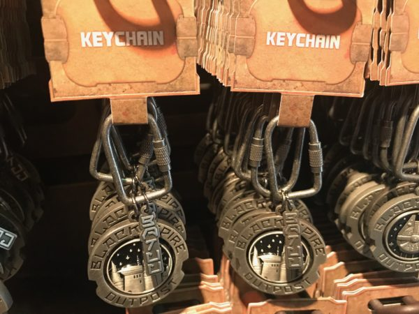 Black Spire Outpost Keychain $9.99