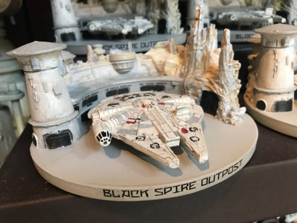 Black Spire Outpost Millennium Falcon model $29.99