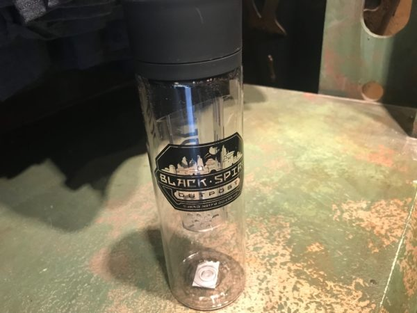 Black Spire Outpost water bottle $21.99