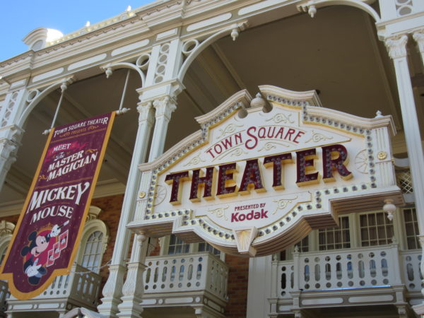 Talking Mickey will no longer meet guests in Town Square Theater, but a traditional Mickey will replace him.