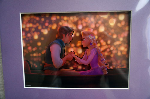 "Win this stunning piece of art celebrating ""Tangled""."