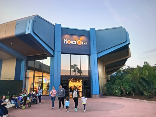 The new temporary location for MouseGear is now open at the breezeway of Innoventions East.
