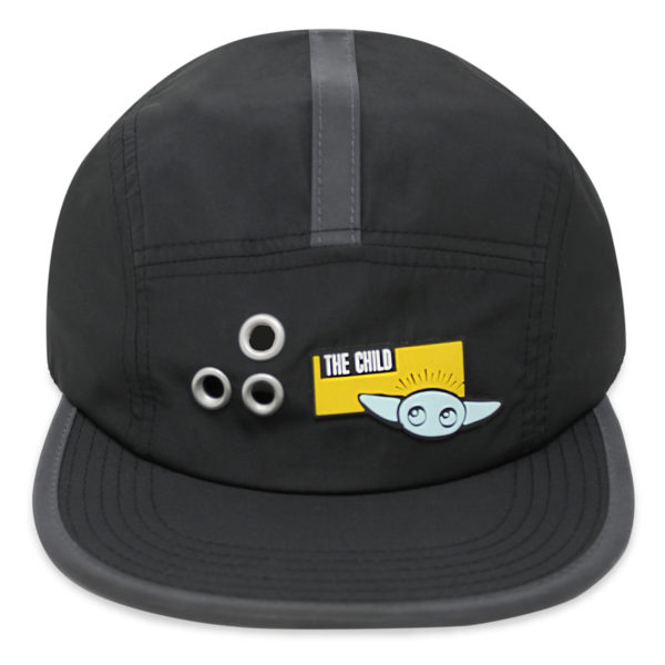 The Child baseball cap is sure to be a hit throughout the galaxy. This contemporary design features an elemental Grogu & cute flat bill, and novel design elements. $27.99 Photo credits (C) Disney Enterprises, Inc. All Rights Reserved