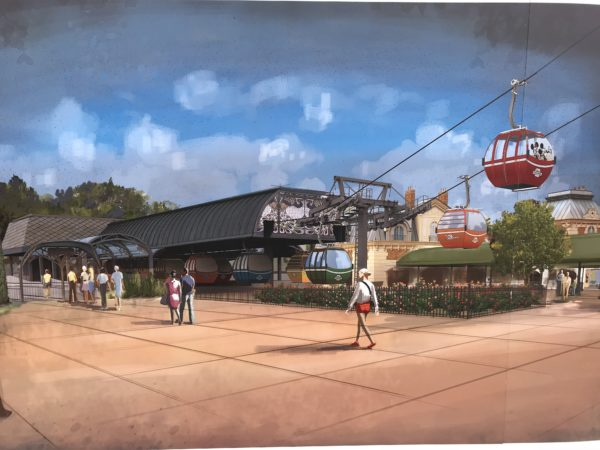 Disney has announced the Skyliner will open on September 29!