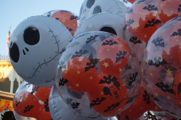 There are plenty of balloons in Magic Kingdom, but you won't find any in Animal Kingdom!