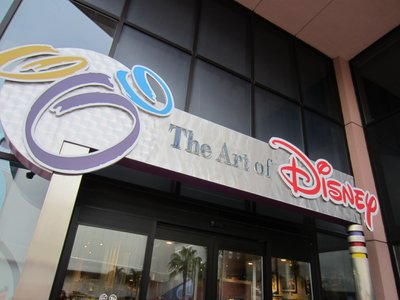 You can find all this merchandise in The Art of Disney store.
