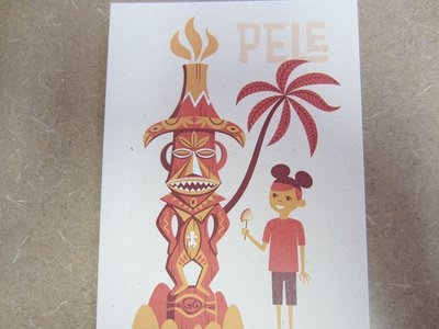 Tiki Room Pele Card