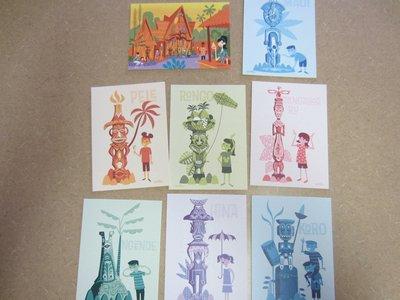Tiki Shag Postcard Set