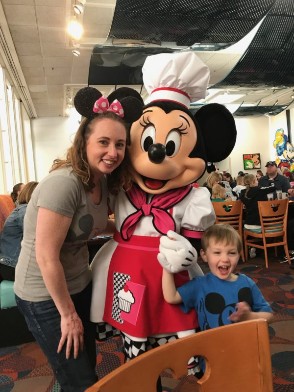 We had so much fun at Chef Mickey's character breakfast!