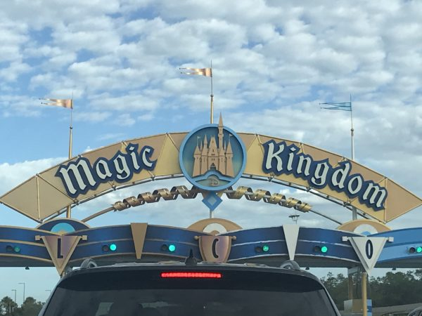 Welcome to the Magic Kingdom toll plaza.
