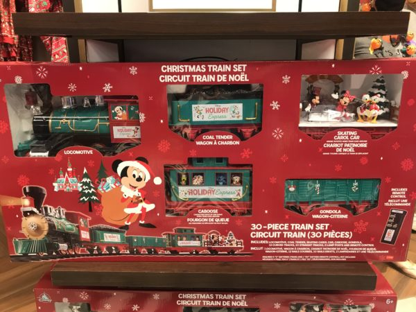 This huge Christmas train set is $139.99.