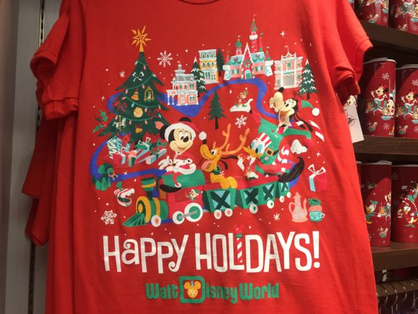 Happy Holidays / Walt Disney World shirt for $24.99.