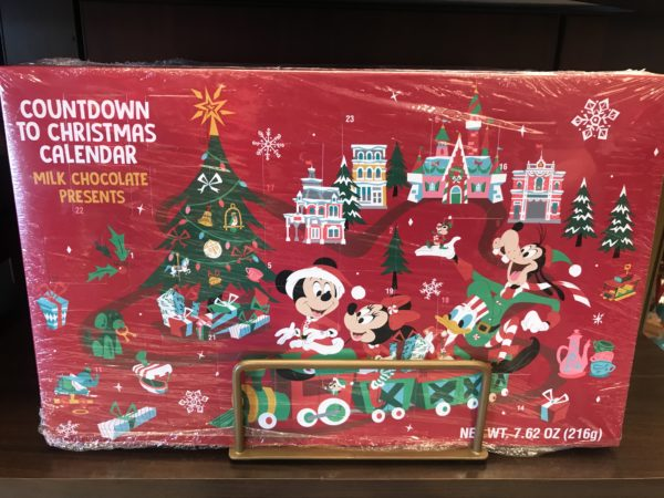 This countdown to Christmas calendar, known to some as an Advent calendar, includes chocolate treats for $14.99.