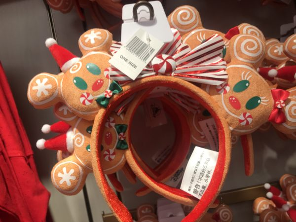 Gingerbread men and women headbands are $29.99.