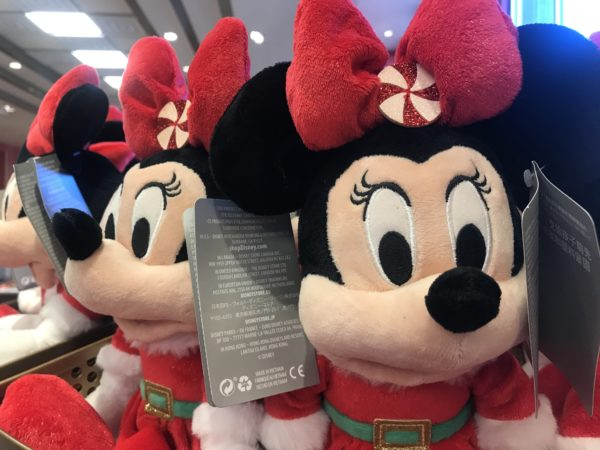 This Christmas Minnie plush is $22.99.