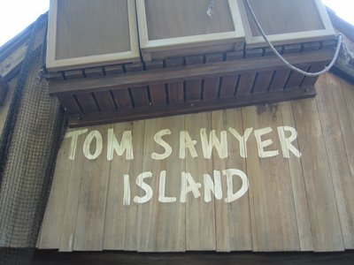 Tom Sawyer Island may get a refresh.