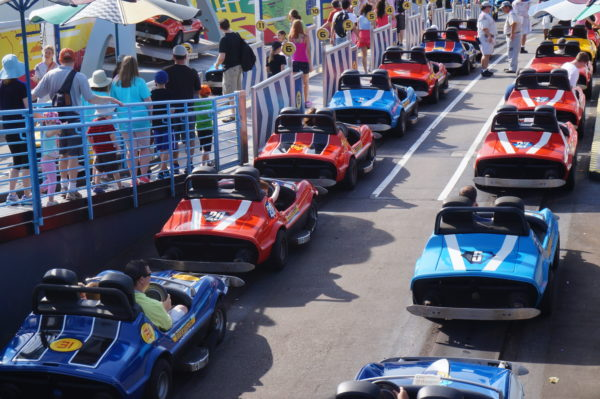 Disney could be replacing the entire fleet of vehicles at Tomorrowland Speedway.