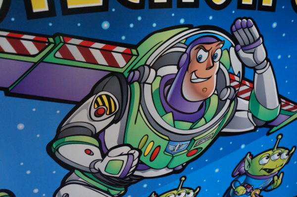 Buzz Lightyear is the only Disney character to have ever gone to space!