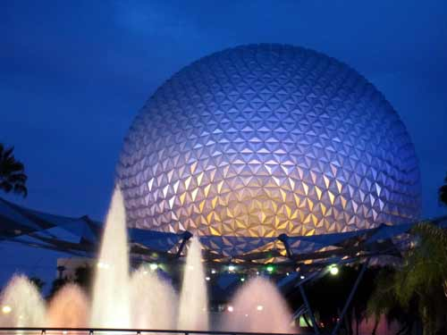 This geodesic sphere is not just Epcot's icon, it's also the home of one of the best dark rides in Disney World.