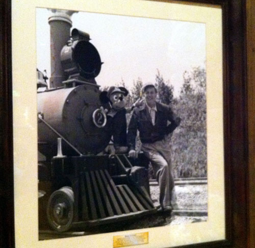 Learn about Walt's love of trains in the Carolwood Pacific Room.
