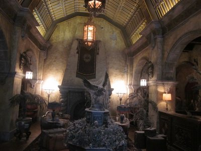 The Tower Of Terror combines an amazing story with a great ride and terrific details.