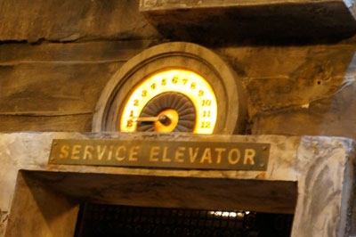 Your service elevator awaits.