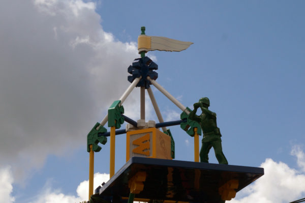 Green Army Men are stationed all over Toy Story Land keeping watch for Andy!