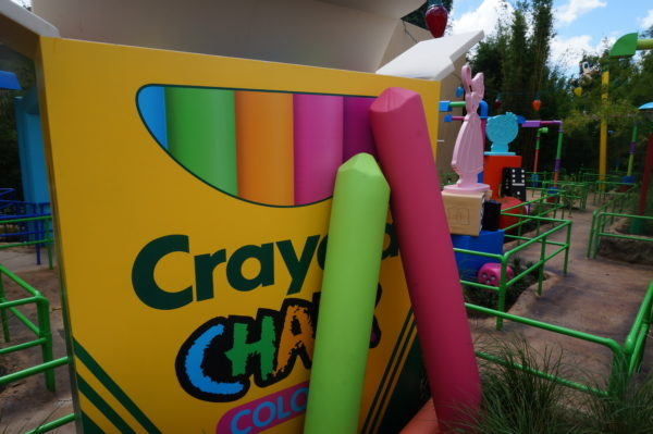 Here's a box of Crayola chalk. Look at how the tips are used!