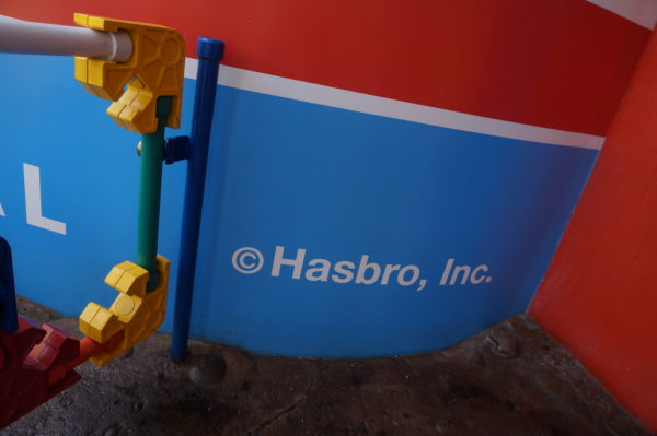 Even the toy boxes have a Hasbro copyright symbol!