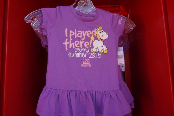 "Here's a dress for your little girl! ""I played there!"""