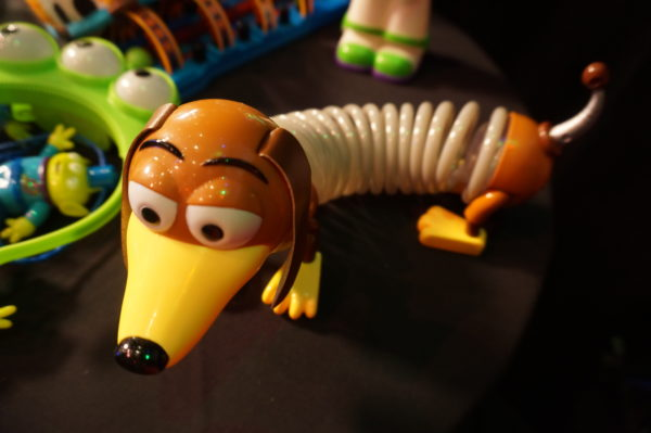 This is a Slinky Dog toy.