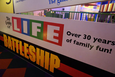 Anyone for a game of Life?  How about Battleship?