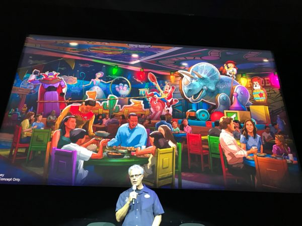 The new Toy Story Land restaurant looks like a fun place!