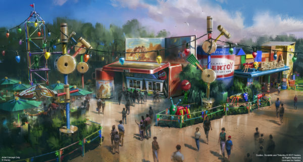 Concept art of the new Woody's Lunch Box in Toy Story Land.  Photo credits (C) Disney Enterprises, Inc. All Rights Reserved