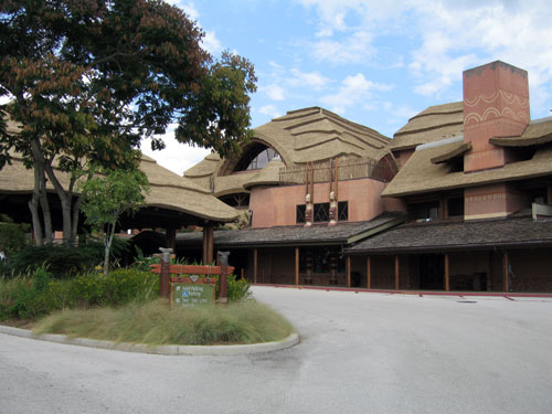 Animal Kingdom Lodge is a deluxe resort, but is only served by bus given its out of the way location.