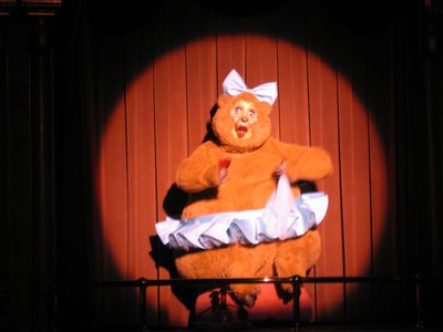 Trixie in the Country Bear Jamboree.
