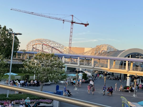 The PeopleMover provides great views of TRON.