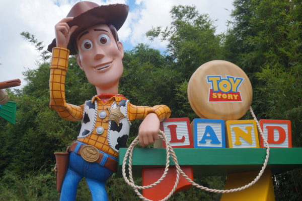 Woody welcomes you to Toy Story Land!