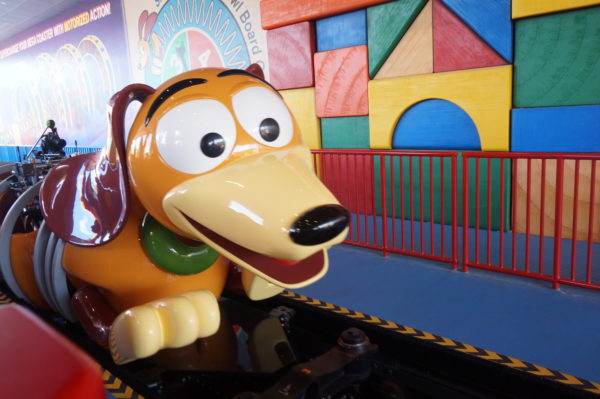 Hop on Slinky's back! You're in for a great ride!