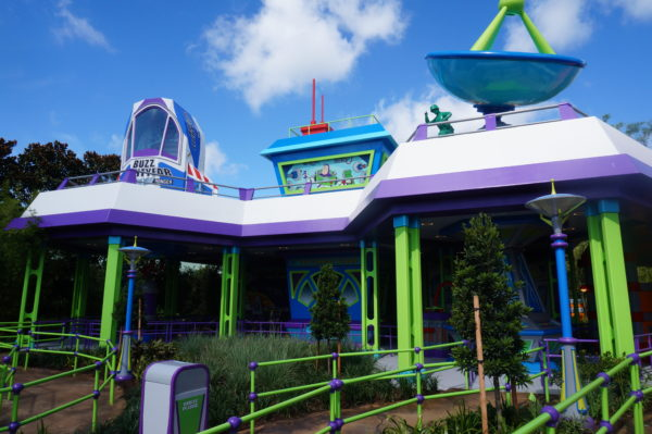 Alien Swirling Saucers is the other new attraction in Toy Story Land.
