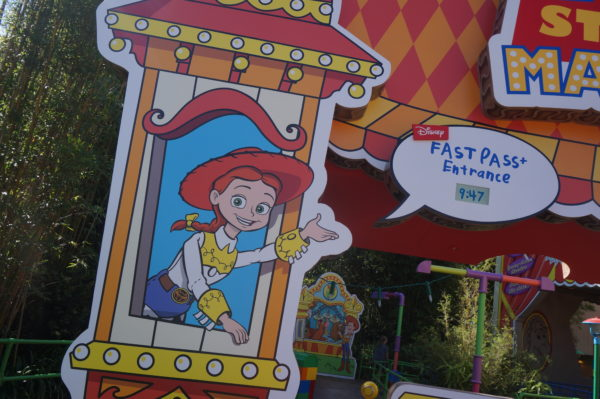 Toy Story Mania still has a FastPass+ line!
