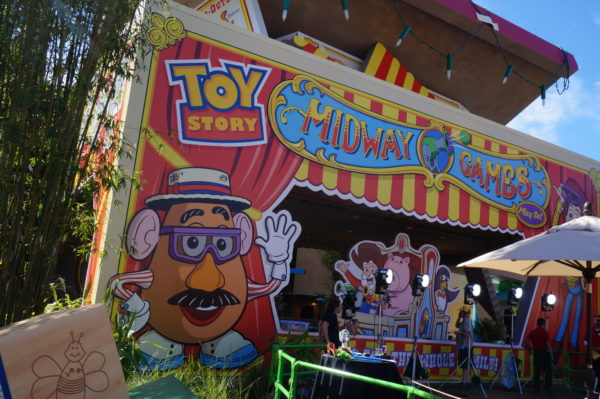 Welcome to Toy Story Mania, where you'll play fun Midway Games!