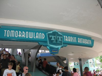 The TTA is a great way to see Tomorrowland and relax along the way.