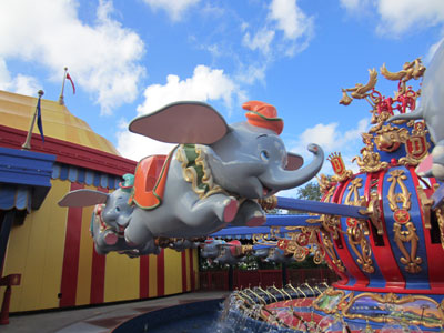 No need to use FastPass+ on Dumbo.